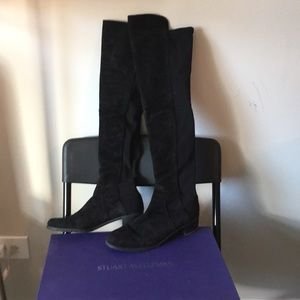 Reserve suede 5050 over the knee boots, 7.5 M